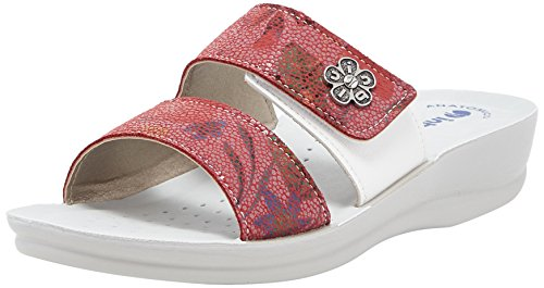 In Blu Valeria, Chanclas Para Mujer Rosso (Rosso)
