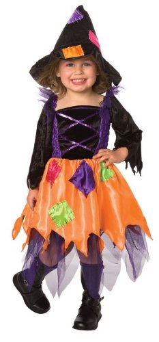 [Patchwork Witch Toddler Costume (2-4T)] (Patchwork Witch)