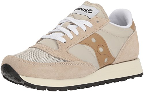 Tan Gris Cement Femme 26 Jazz Baskets Vintage Original Saucony 01FqS1