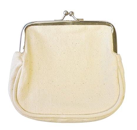 porte-monnaire bolsa en algodón con boquillas 12 cm ...