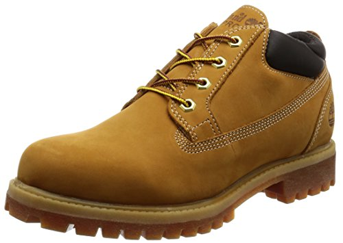 Timberland Men's Icon Premium Waterproof Oxford, Wheat Nubuck, 10 C US