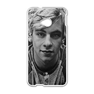 Popular And Durable Designed TPU Case with Ross Lynch HTC One M7 Cell Phone Case White