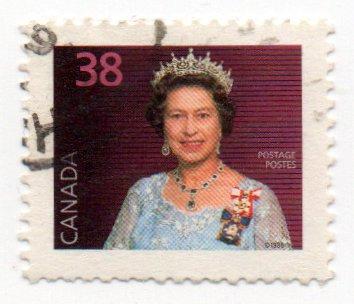 Single 1987 Queen Elizabeth II Issue 38 Cent Scott #1164 ()