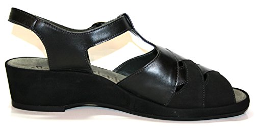Ganter, Sandali donna Nero Black/Schwarz 42.5