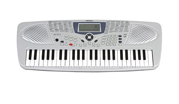 Medeli - Teclado musical para estudio escolar, modelo MC37, con 49 teclas.: Amazon.es: Instrumentos musicales