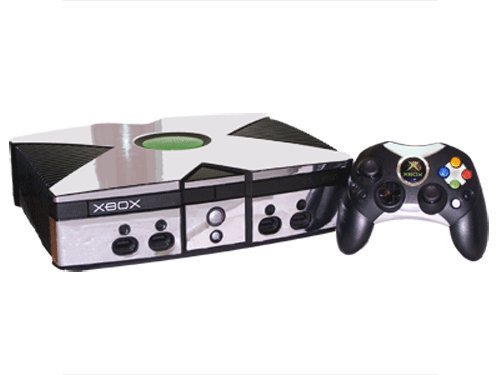 Microsoft Xbox Skin (Original) - NEW - SILVER CHROME, used for sale  Delivered anywhere in Canada