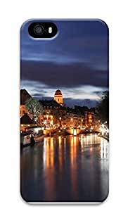 iPhone 5 5S Case Beautiful city at night 04 3D Custom iPhone 5 5S Case Cover