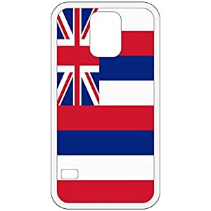 Hawaii HI State Flag White Samsung Galaxy S5 Cell Phone Case - Cover