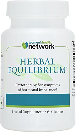 Herbal Equilibrium - 60 Tablets - Natural Menopause Relief Supplement for Hormonal Imbalance and Hot Flashes