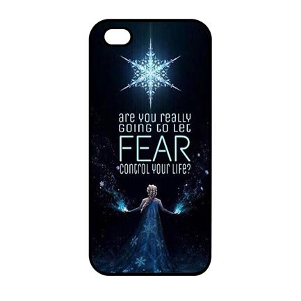 Clear Anime Frozen Case Cover for iPod Touch 5th Generation - Customize Black iPod Touch 5th Generation Aegis Case Special Gift for (Frozen Ipod Cases 5th Generation)
