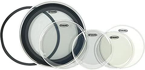 Evans EMAD 5-Piece Drumhead Pack Rock (Evans G2 14 Snare)