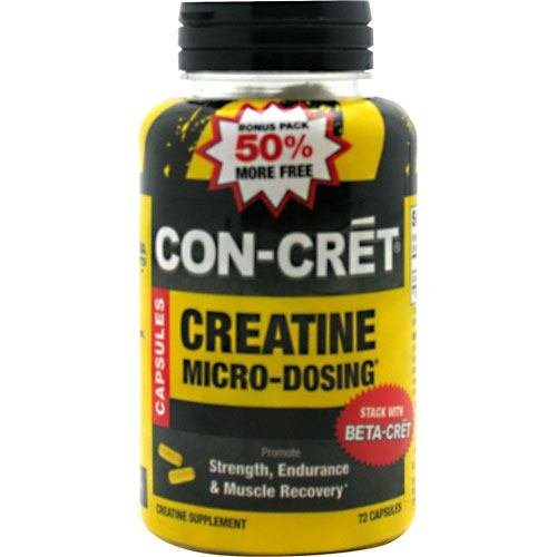 ConCret, 72 Capsules, Micro-Dosing Creatine by CON-CRET (Image #1)