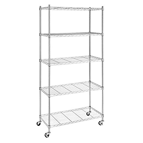 wire kitchen  pantry shelving  amazon com