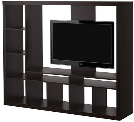 Ikea Expedit Entertainment Center Tv Stand hasta 55