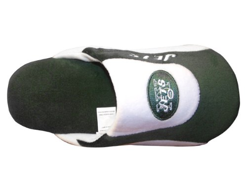 Happy Feet & Comfy Feet - OficialHombreste Con Licencia Para Hombre Y Mujer Nfl Low Pro Slippers New York Jets Low Pro