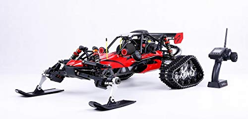 - Rock Crawler Large Scale Remote Car Muzili- 30.5cc Single Cylinder air-Cooled Two-Stroke Four-Point Fixed Gasoline Engine (Standard Walbro668 Carburetor, NGK Spark Plug Size 817x480x255mm)