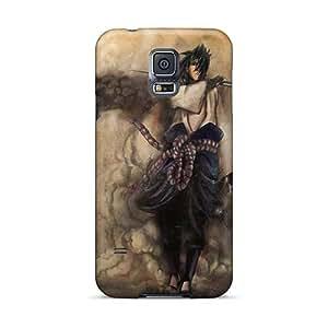 AshtonWells Samsung Galaxy S5 Scratch Resistant Cell-phone Hard Covers Customized Trendy Uchiha Sasuke Naruto Shippuden Pictures [WDl27360ptTs]