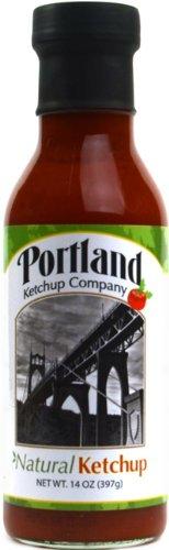 Organic Natural Ketchup: Portland Ketchup Company 14 oz Gluten-Free Vegan No-GMOs (12-Pack) by Portland Ketchup Company