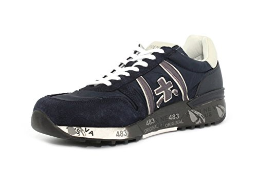 PREMIATA 3247 Blu Sneaker PREMIATA Lander Sneaker aPHwT0qH