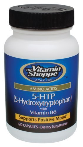 the Vitamin Shoppe 5-HTP with Vitamin B6 120 Capsules by Vitamin Shoppe