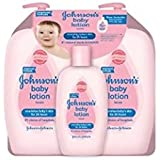 Johnsons Baby Lotion (Pack of 3) 2-27 Ounce & 1-9
