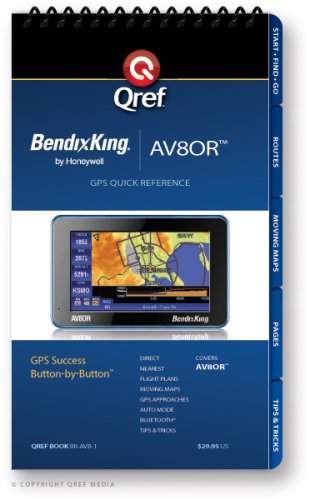 Bendix/King AV8OR Qref Checklist (Qref Avionics Quick Reference)