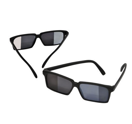 Spy Look Behind Sunglasses (12 - Look Spy Behind Sunglasses