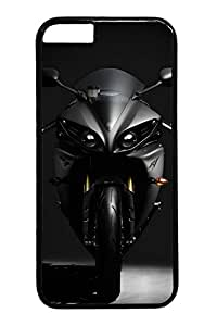 Luxury Motorcycle Custom iphone 6 plus 5.5inch Case Cover Polycarbonate black