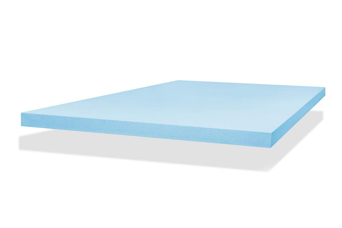 ViscoSoft 2-Inch Gel Memory Foam Mattress Topper (Twin) – CertiPUR-US Made in The USA COMIN18JU052006
