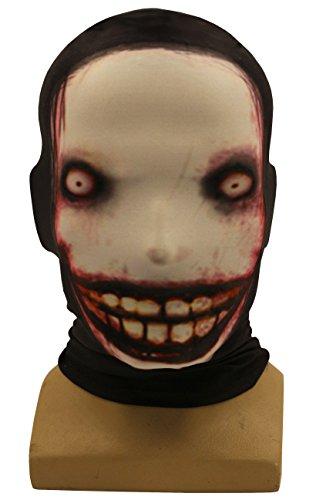 Cosplay Creepy Unisex Horrible Elastic Face Mask Headgear