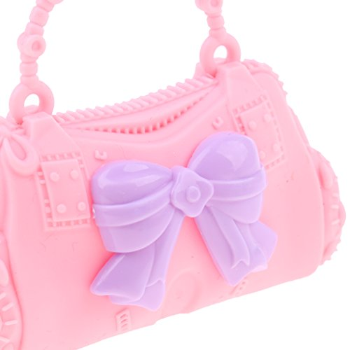 Butterfly Pretty Dolls Barbie Bag 30cm Pink Baoblaze Handbag Accessories 28 Kid Doll Shoulder Plustic for Bag Girl tnSxwwd8zB
