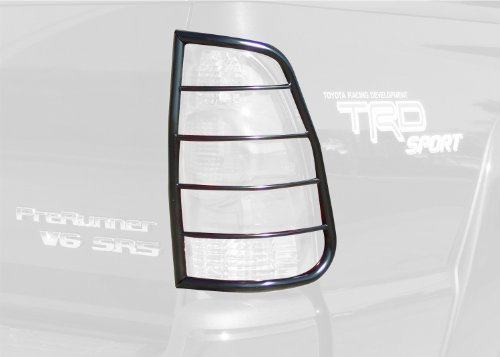Steelcraft 33250 Black Tail Light Guard for Toyota Tacoma