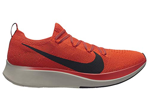 Nike Zoom Fly Flyknit Men's Running Shoe Bright Crimson/Black-Total Crimson Size 8 by Nike (Image #5)