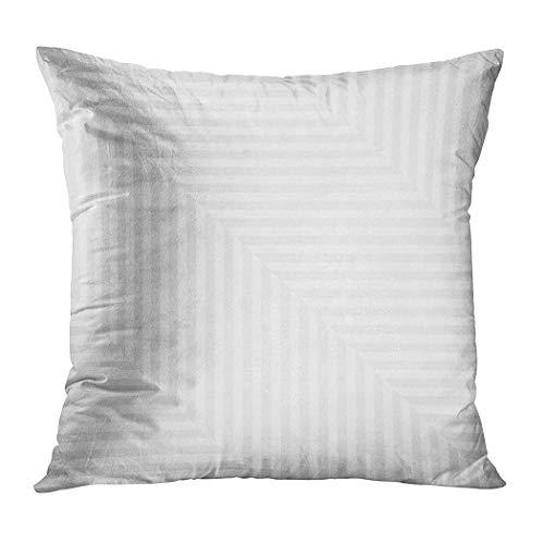 Joaffba Throw Pillow Cover Decorative 20x20 Inch Pillow Case Striped Repeating Geometric Abstraction Home Car Sofa Office Meeting Room Decor Cushion Pillowcase