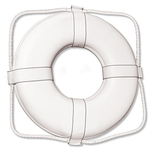 Poolmaster 55549 US Coast Guard Approved Ring Buoy, 19