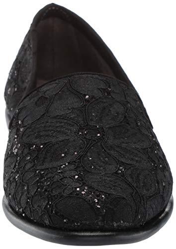 Fabric Para Bailarinas Betunia Mujer Aerosoles 35 Eu Black Schwarzes Leder qzgwaP