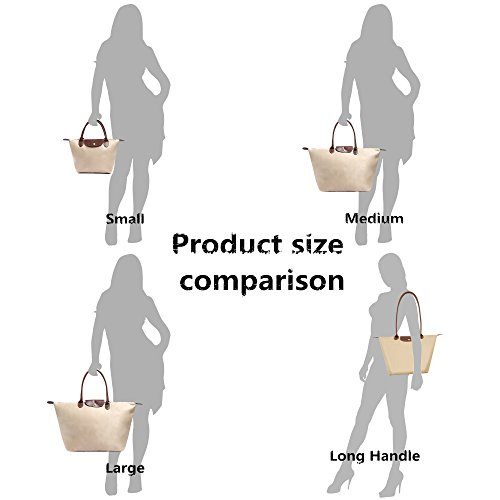 Long Beach Bekilole Nylon Waterproof Women's Travel Bag Handle Tote Bags Stylish Burgundy Shoulder 4qRwvcAORW