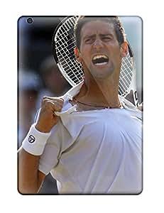 High Grade Audunson Flexible Tpu Case For Ipad Air - Novak Djokovic Pictures
