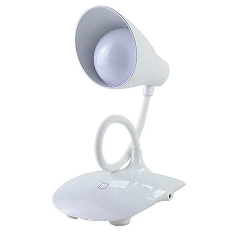 DLamp Interruptor táctil Lámpara de Escritorio Escritorio Escritorio LED de Cuello de Cisne Flexible 3 Modos de Brillo Estudiar la lámpara de Lectura de Oficina con Puerto de Carga USB 5c8f55