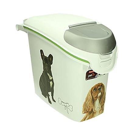Curver Feed Bin 15 L 50x23x35 5 Cm Dry Dog Food 6 Kg Box Animal