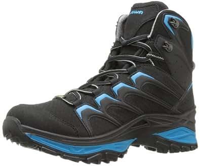 Lowa Men's Innox Goretex Mid Hiking Boot,Black/Blue,14 M US