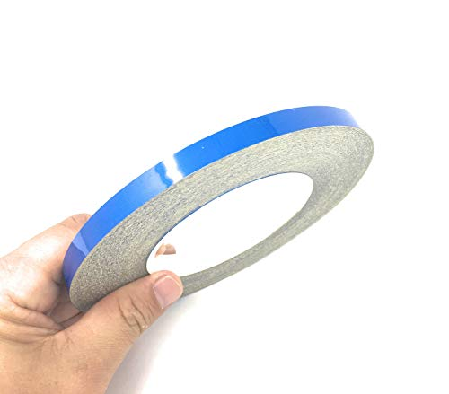 JNK NETWORKS 0.4 inch by 150 Foot Car Reflective Body Rim Stickers Decoration Strip (Blue)