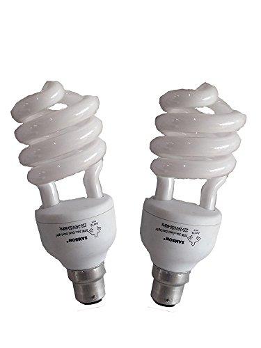 Samson 30W B22 Spiral CFL Bulb (White, Pack.. Image