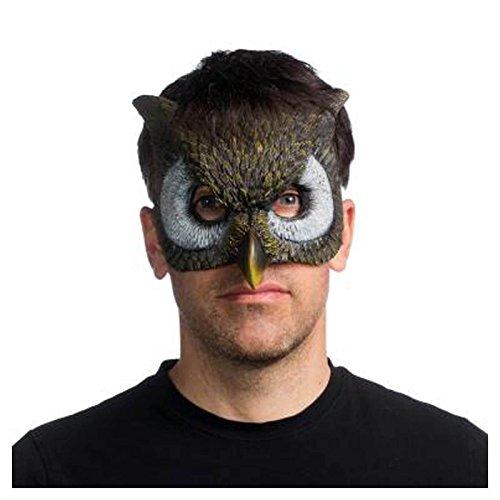 Super Soft Form Fitting Latex Owl Mask ()