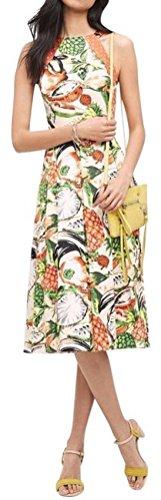 ple Halter Dress by Eva Franco $188 Sz 4P - NWT(Petites 4P) ()