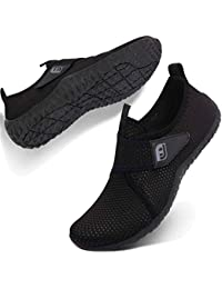 7fe0055405bc Womens Mens Water Sports Shoes Outdoor Quick Dry Barefoot Athletic Aqua Shoe  for Beach Swim Pool