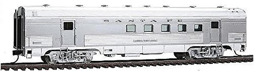 Walthers - Santa Fe El Capitan Streamlined Car - 63' Budd Railway Post Office #89-98 - HO by Walthers Baggage Dormitory Car