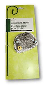 "Love Garden Ornament ""To Plant a Garden Is to Believe in the Future"" Stone"