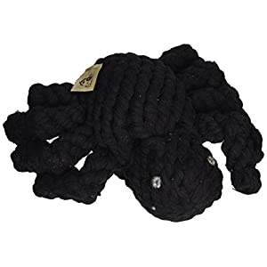 Jax and Bones Good Karma Holiday Halloween Rope Dog Toy, 5-Inch, Spike The Spider