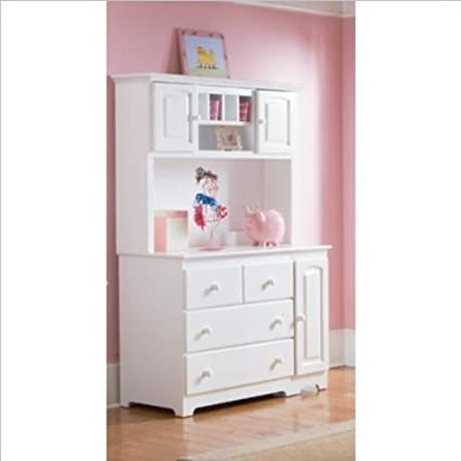 Amazon.com: Atlantic Furniture Windsor Changing Table And Hutch In White:  Kitchen U0026 Dining